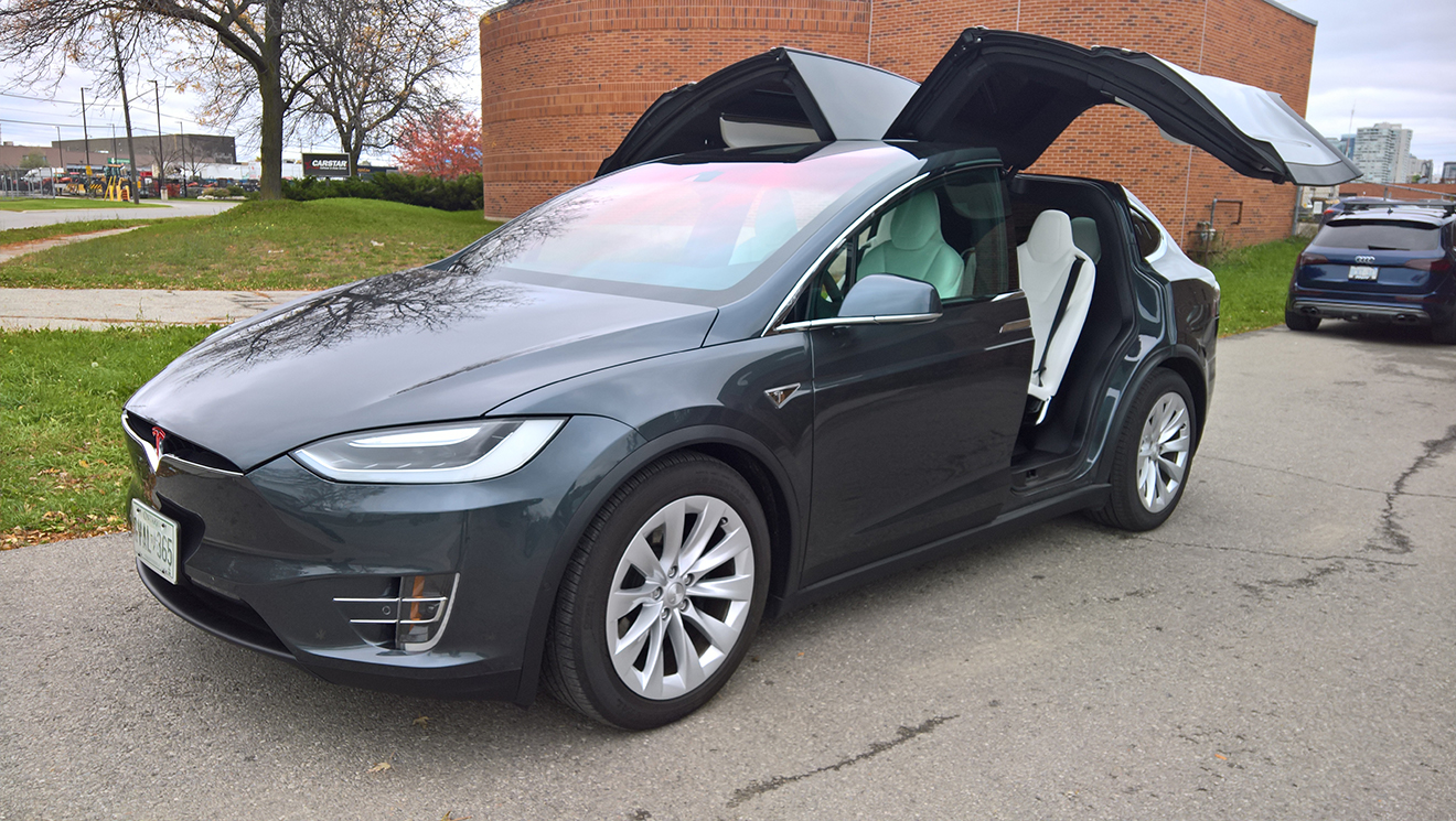 Tesla Model X Full Nose Paint Protection