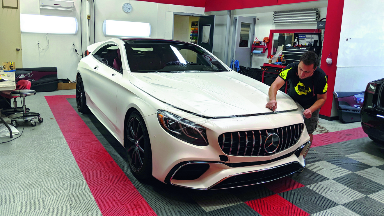 Mercedes AMG S63 Paint Protection